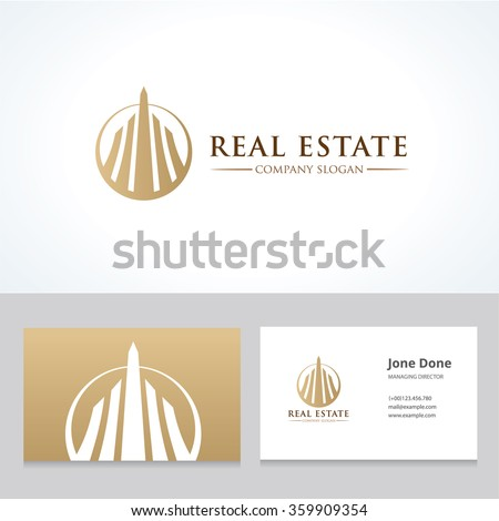 real estate logo hotel logo