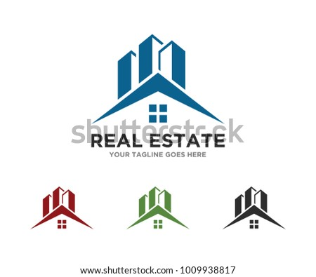 real estate logo template download free vector art stock graphics