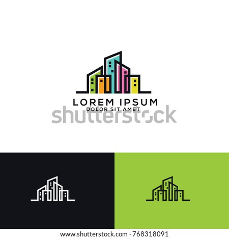 Real estate Logo Template Download