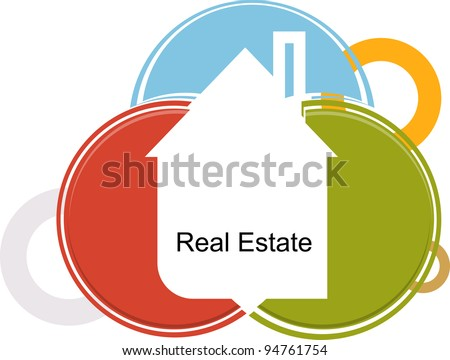 real estate on color cards