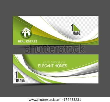 Real Estate Vertical Banner Real Estate Web Banner