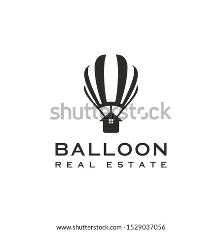 real estate with balloon