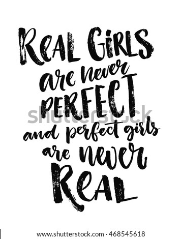 real girls are never perfect