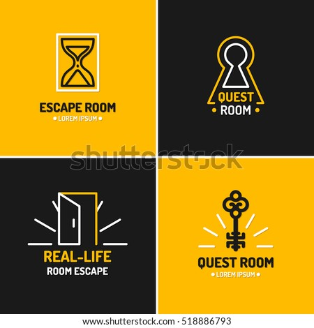 real life room escape the logo