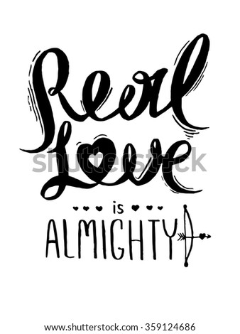 real love is almightyromantic