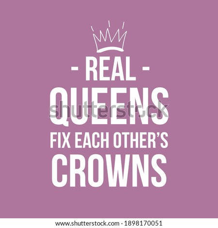 Real Queens Fix Each Others Crowns ストックフォト ©