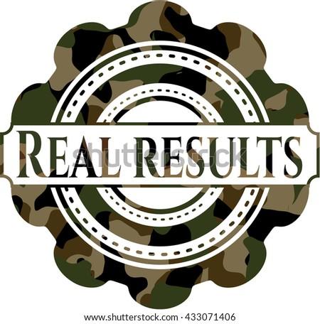 Real results camo emblem