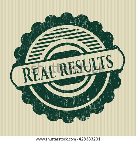 Real results rubber grunge texture seal