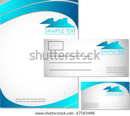 real state corporate identity kit