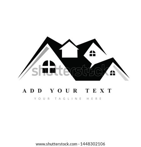 Real state logo design & illustration vector art