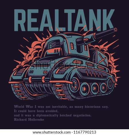 real tank illustration