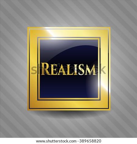 Realism gold emblem