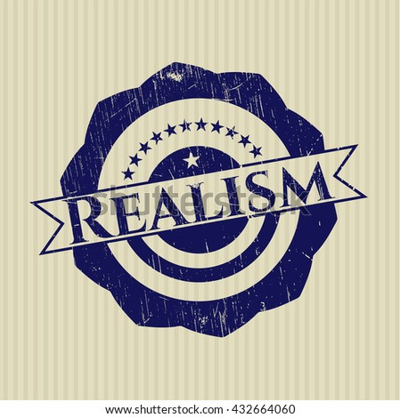 Realism rubber stamp