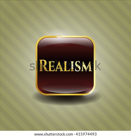 Realism shiny badge