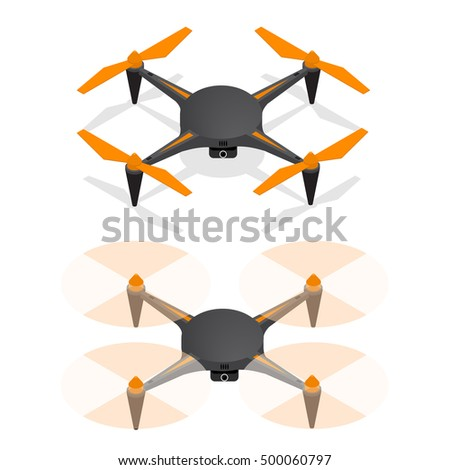 realistic air drone