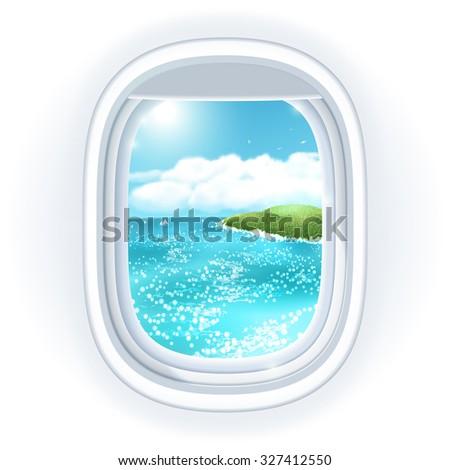 realistic aircraft porthole