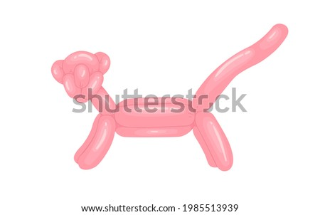 realistic animal shaped balloon