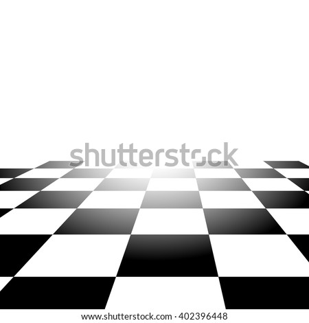 Realistic Chess Board Abstract Vector Background