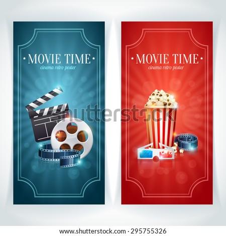realistic cinema movie poster