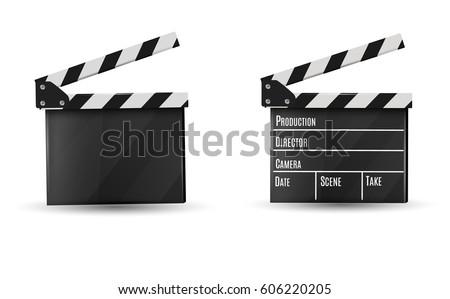 realistic clapper.cinema.board...