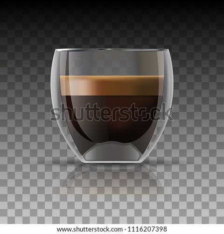 realistic coffee cup and