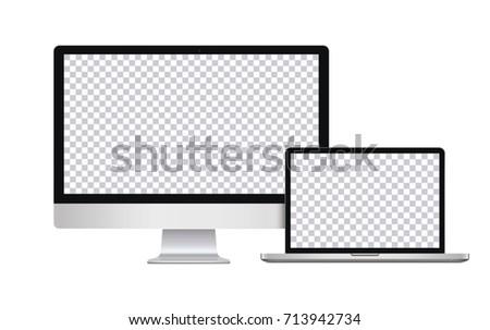 flat monitor screen vector free vector art at vecteezy