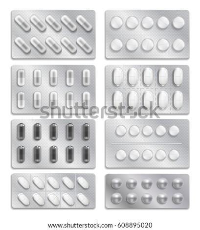 realistic 3d drugs packaging