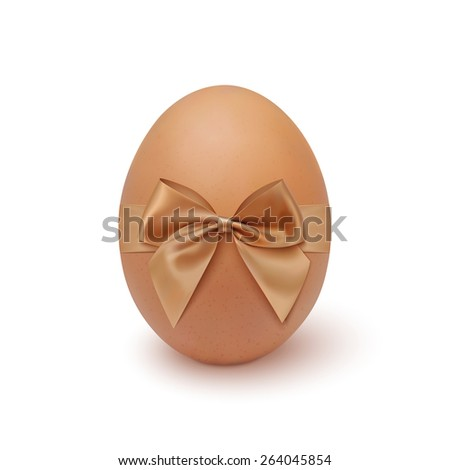 stock-vector-realistic-egg-icon-with-ribbon-isolated-on-white-background-vector-illustration