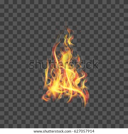 realistic fire flames for web