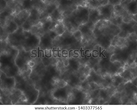 Realistic fog or smoke. Vector seamless pattern. Cloudiness mist, smog or fog. Black background. Fog dust texture. Gas explodes, ice fog blowing. Texture dark mist. Smoke flow on dark background