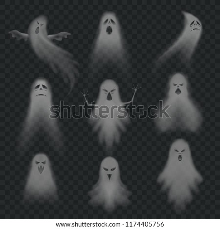 realistic ghost scary