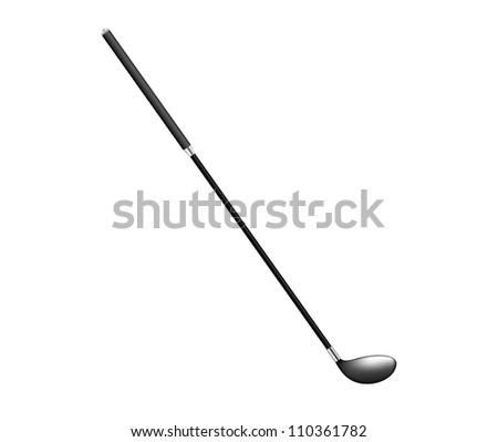 Realistic golf club