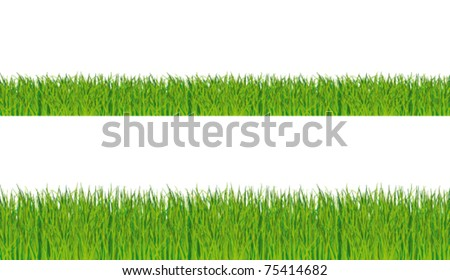 realistic grass collection