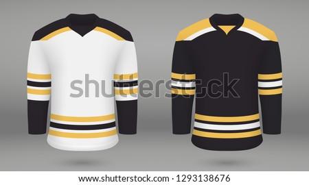 realistic hockey kit boston