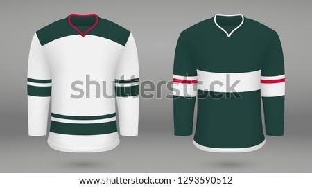 realistic hockey kit minnesota