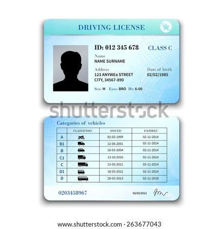 driver license machine