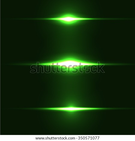 realistic light glare laser