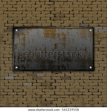 realistic old brick wall with a
