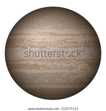 realistic planet jupiter