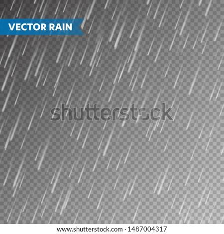 realistic rain texture on
