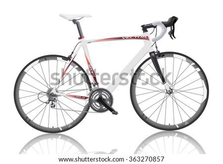 realistic road bike carbon