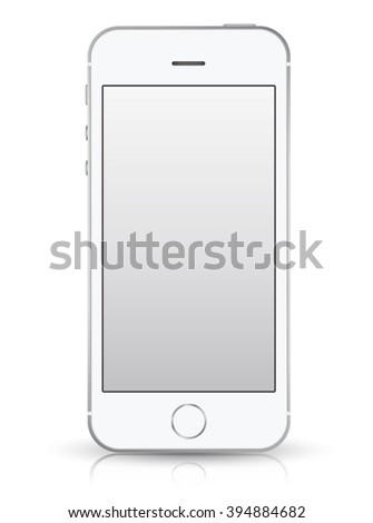 realistic smartphone black