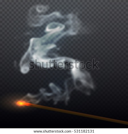 realistic smoke from aroma