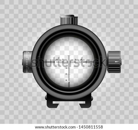 realistic sniper scope zoom