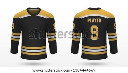 realistic sport shirt  boston