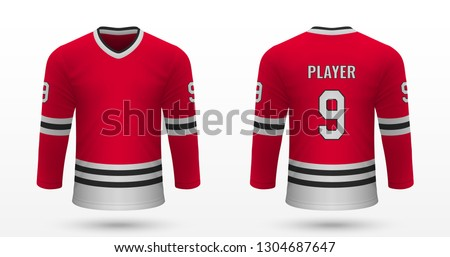 realistic sport shirt  chicago