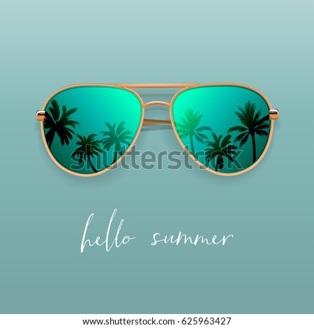 Realistic Sunglasses.