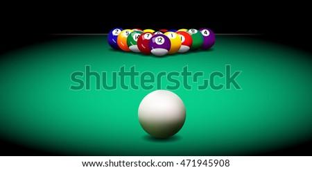 realistic vector billiard