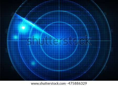 realistic vector radar in