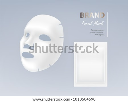realistic vector white sheet